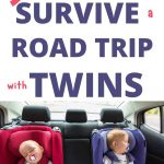 car traveling with twins