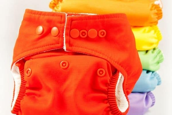 cloth diapering twins