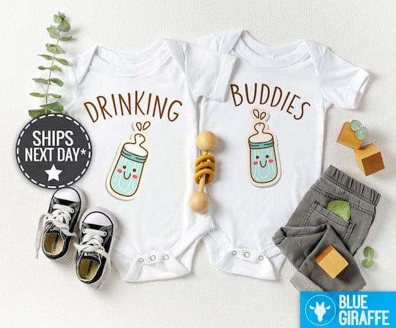 funny twin baby costumes