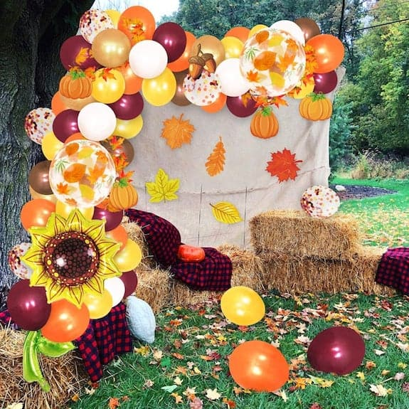 fall decoration ideas for shower