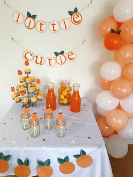 cutie decorations for baby shower