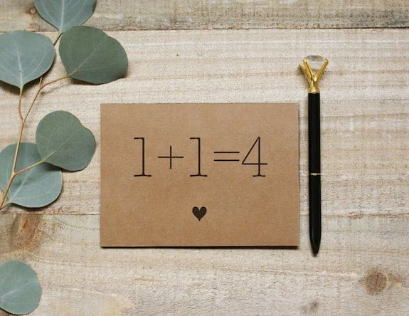 numbers pregnancy announcement