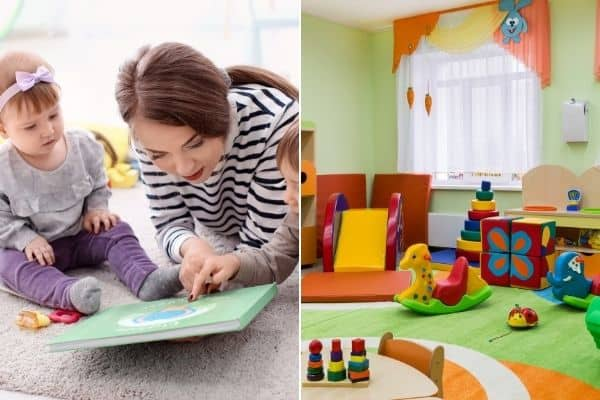 daycare of nanny for twins