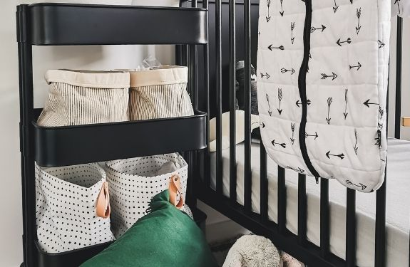 storage solutions for nursery