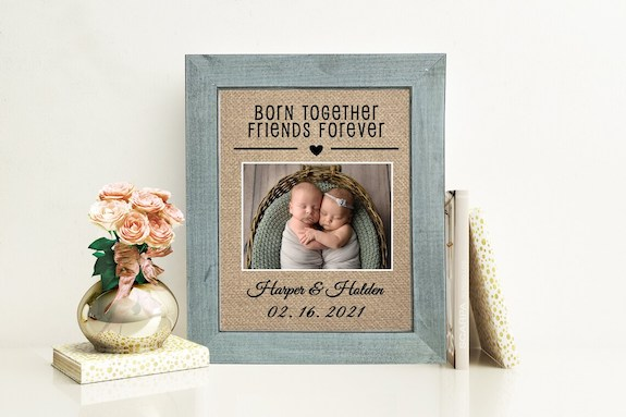 personalized twin gift